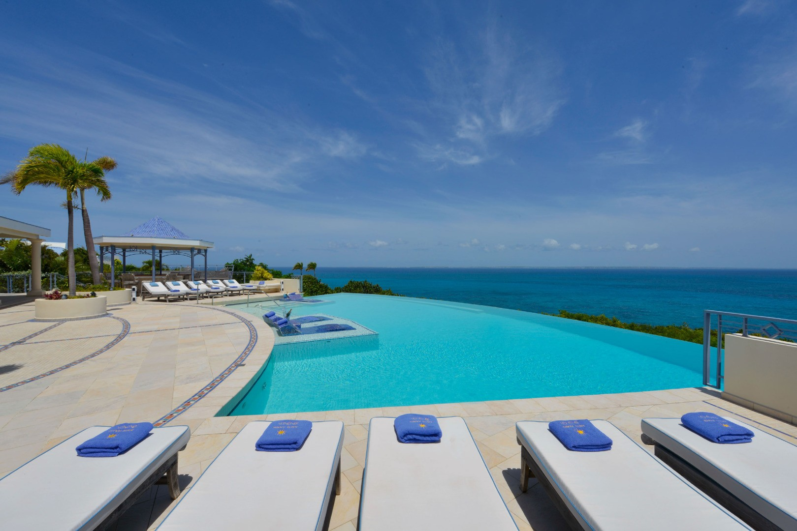 villa st maarten, st martin, paradise, tropical, pool, oasis