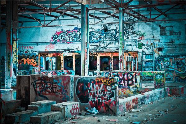 graffiti station