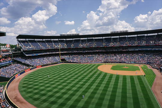 atlanta braves baseball field