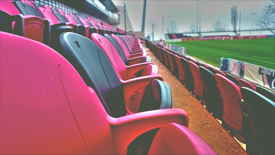 empty seats in baseball field