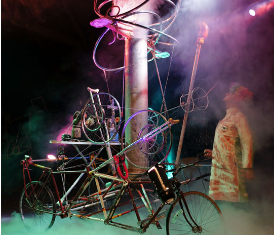 inside Mat Bevel's Kinetic museum in US southwest