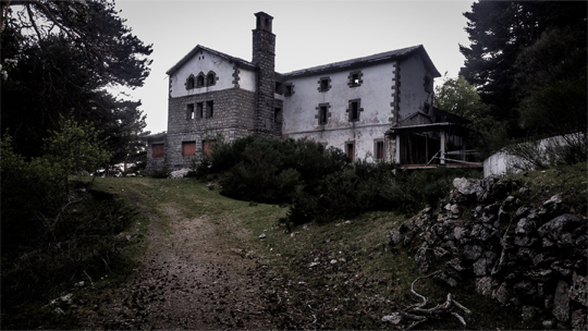 scary house home creepy