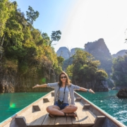 travel woman abroad asia