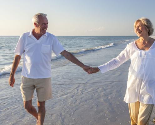 retiree beach retirement