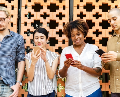 smartphone app users